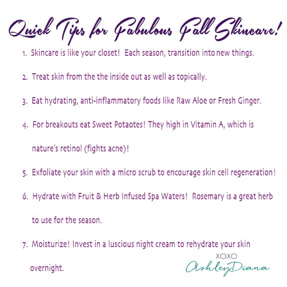 FabulousFallSkincareImage