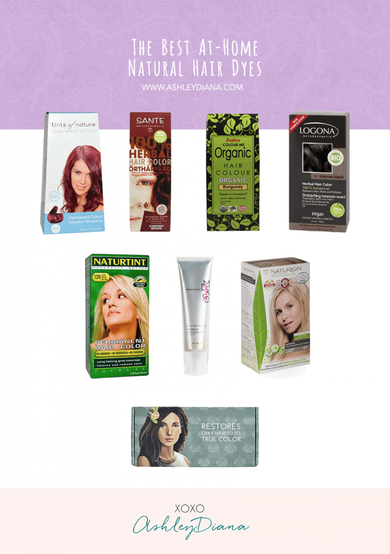 The Best At-Home Natural Hair Dyes - Ashley Diana