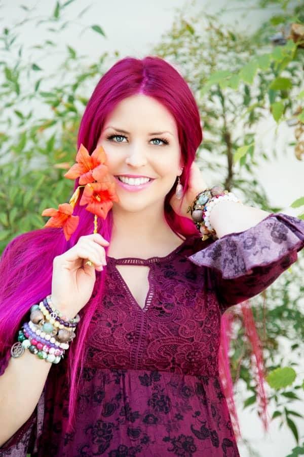 Ashley Long pinkhair dermae LR4-1