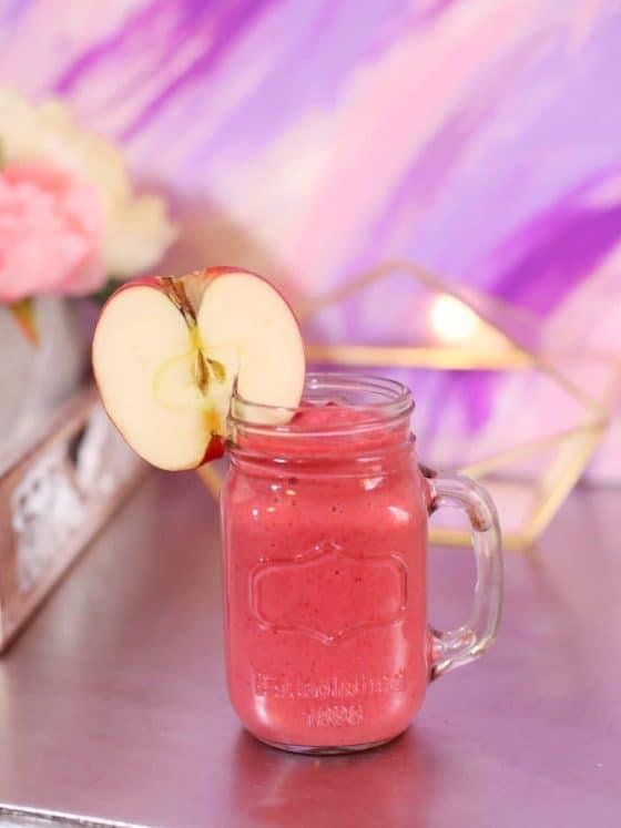 Apple Berry Crisp Smoothie