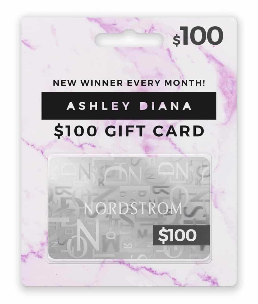 Ashley Diana Nordstrom Gift Card 800