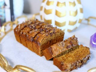 Refined Sugar-Free Pumpkin Bread