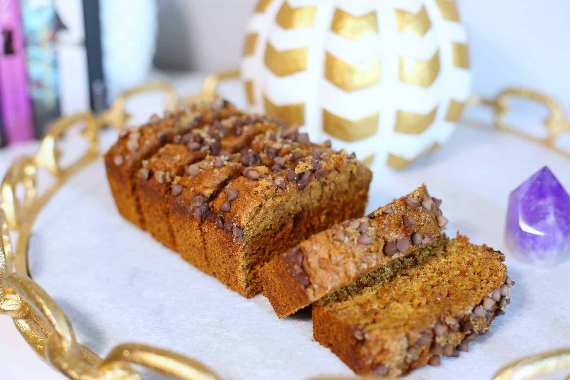 Refined Sugar-Free Pumpkin Bread