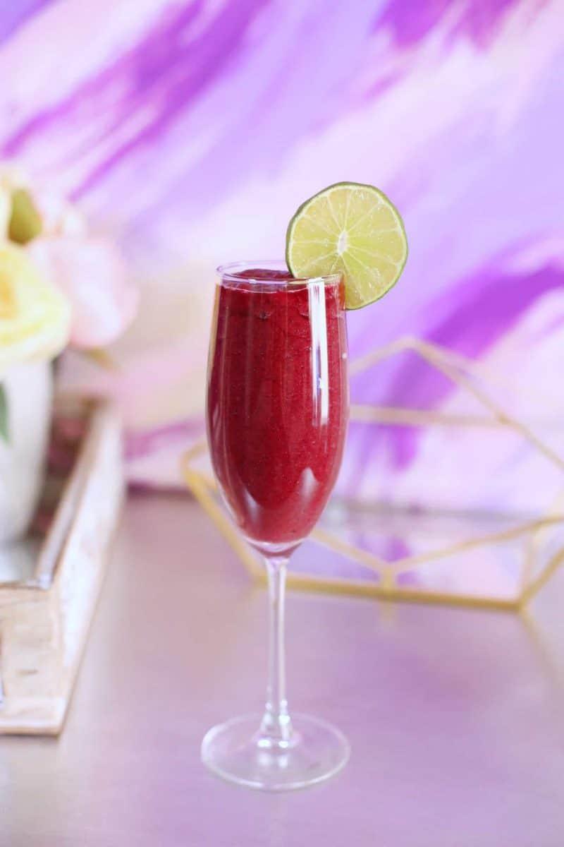 Pretty Pomegranate Smoothie - Ashley Diana
